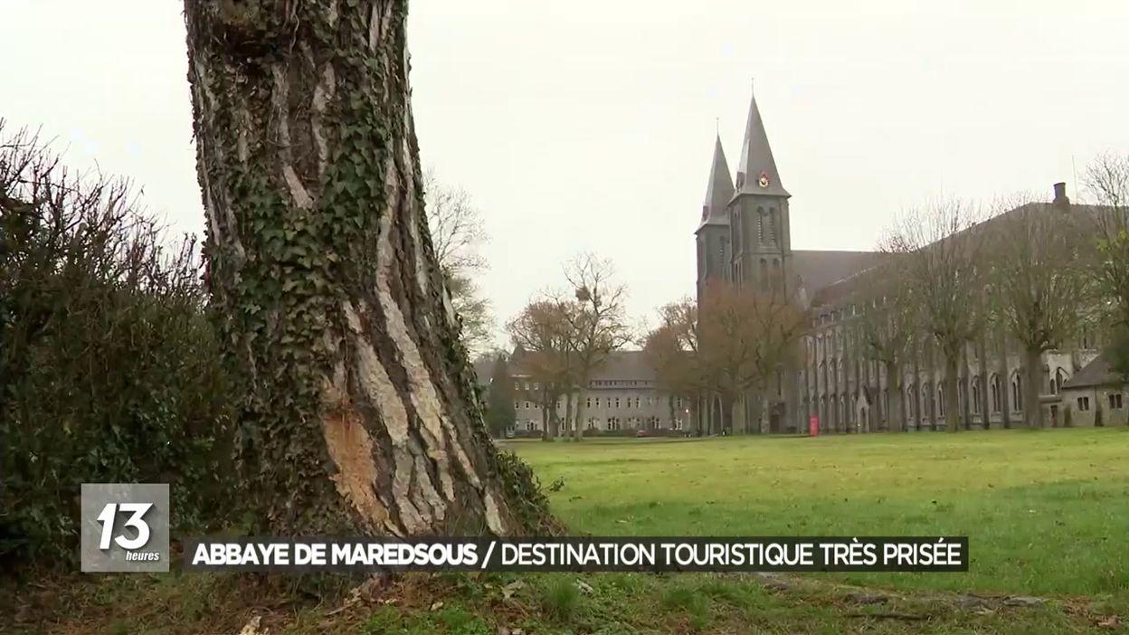 Abbaye de Maredsous : destination touristique très prisée