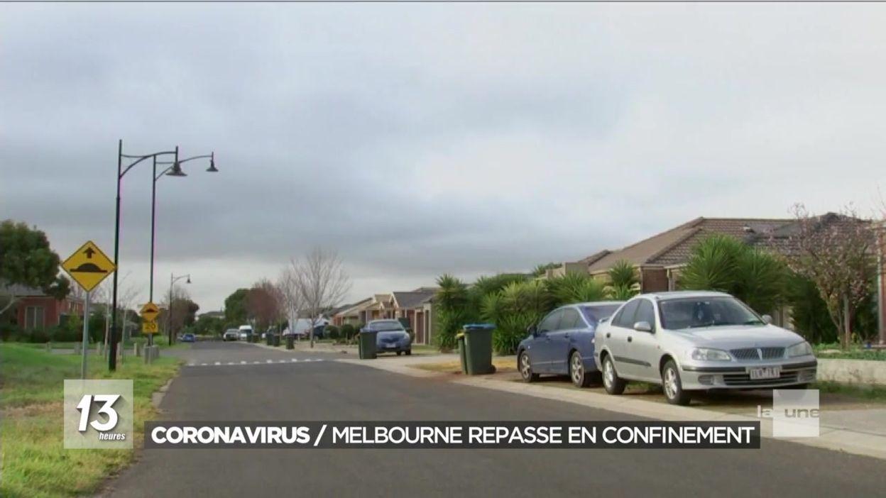 Coronavirus : Melbourne repasse en confinement