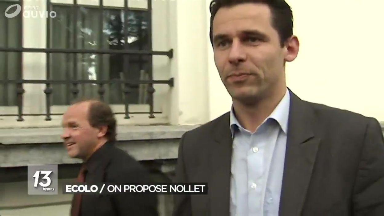 Portrait de Jean-Marc Nollet, nouveau co-Président d'Ecolo ?