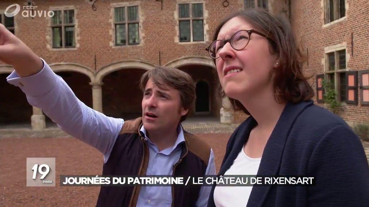 Journée du patrimoine  Chateau de Rixensart