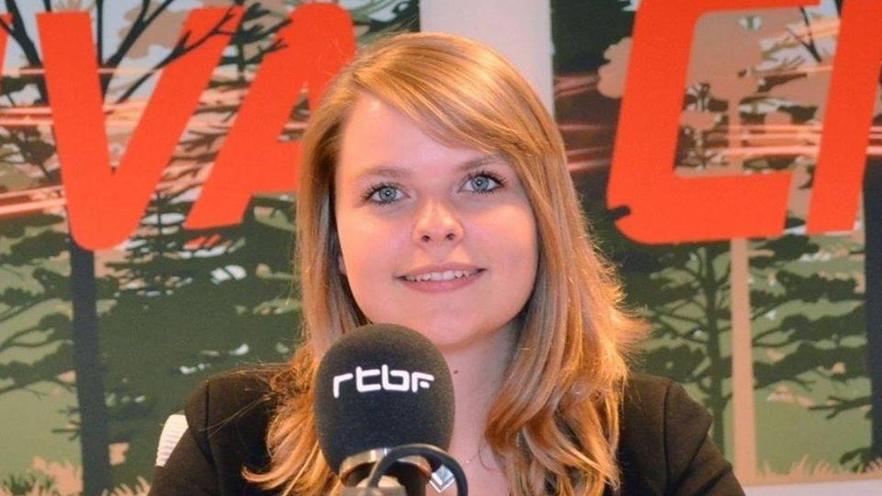 Isabelle Lecocq au micro de Jordane Meyer