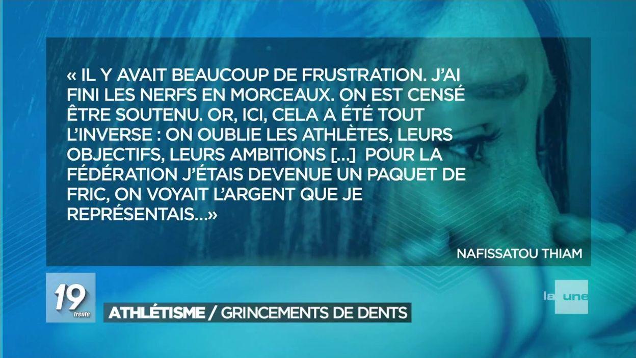 Le torchon brûle entre les athlètes belges et la Fédération