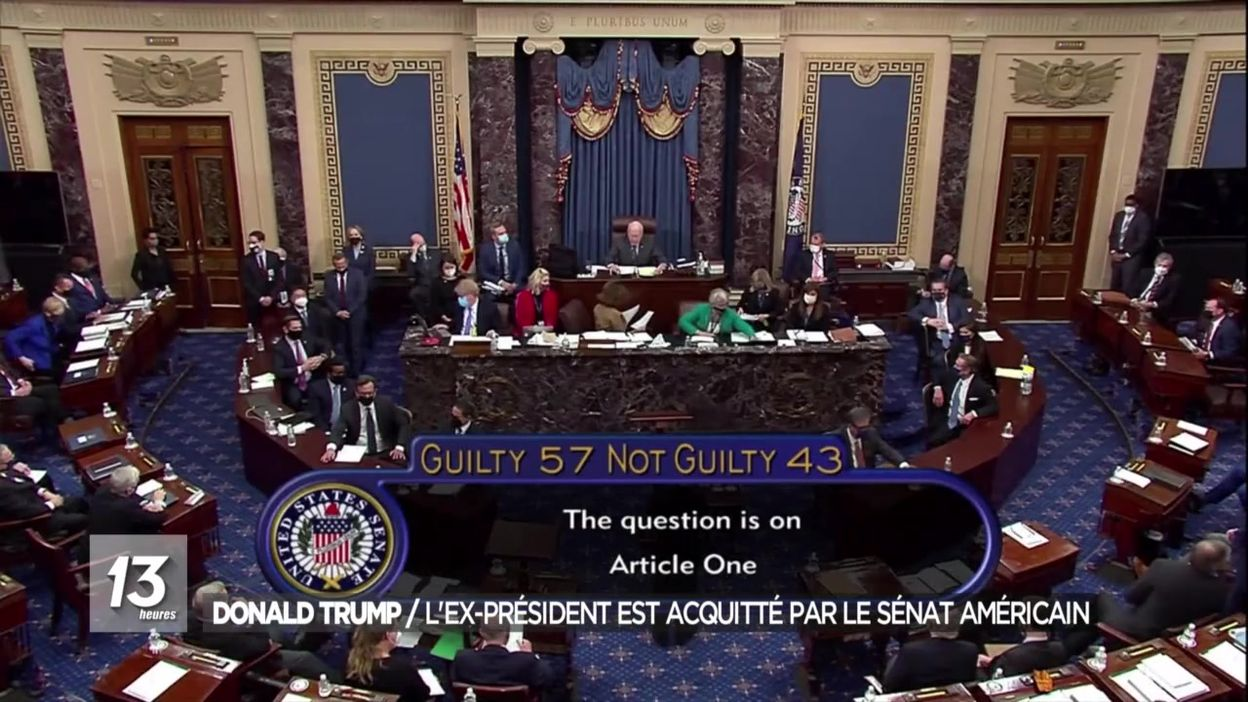 Donald Trump : l'ex-président est acquitté par le Sénat américain