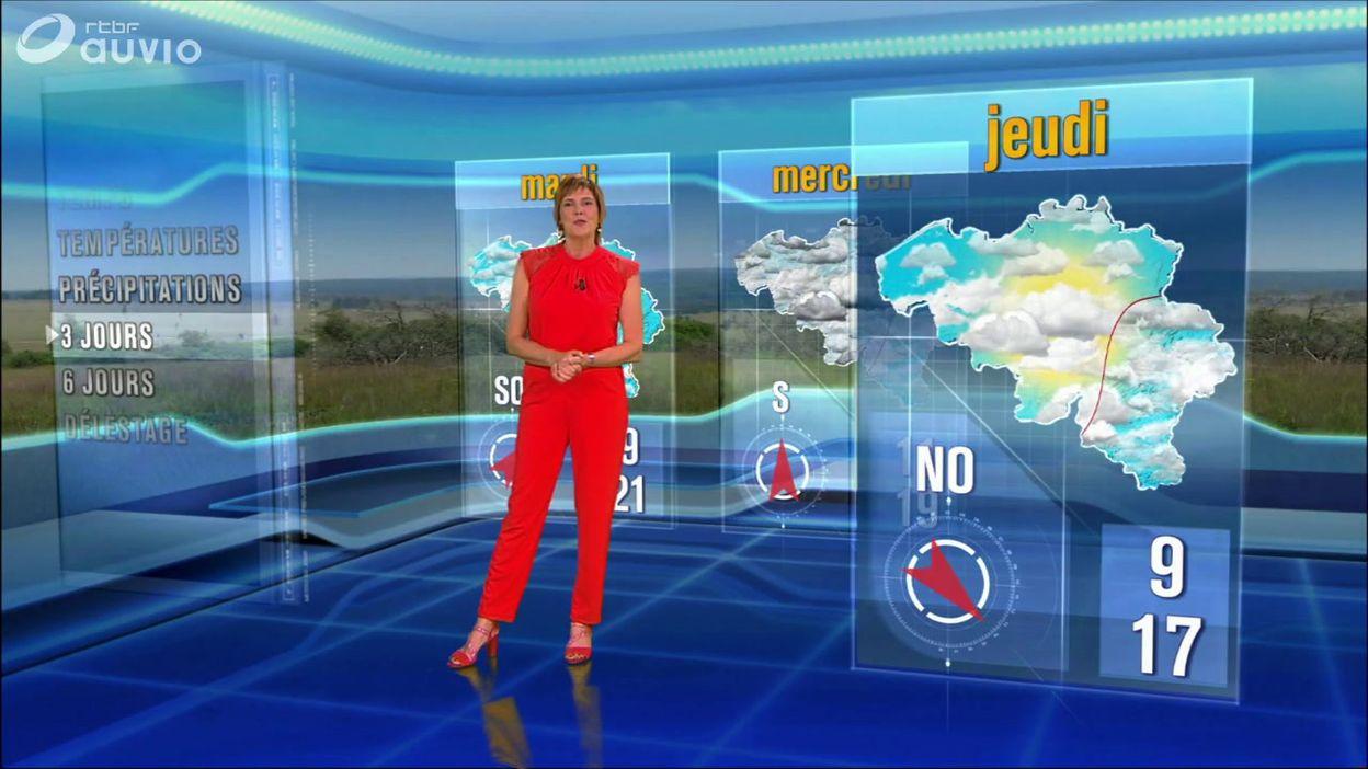 Le dernier bulletin météo de Marie-Pierre Mouligneau