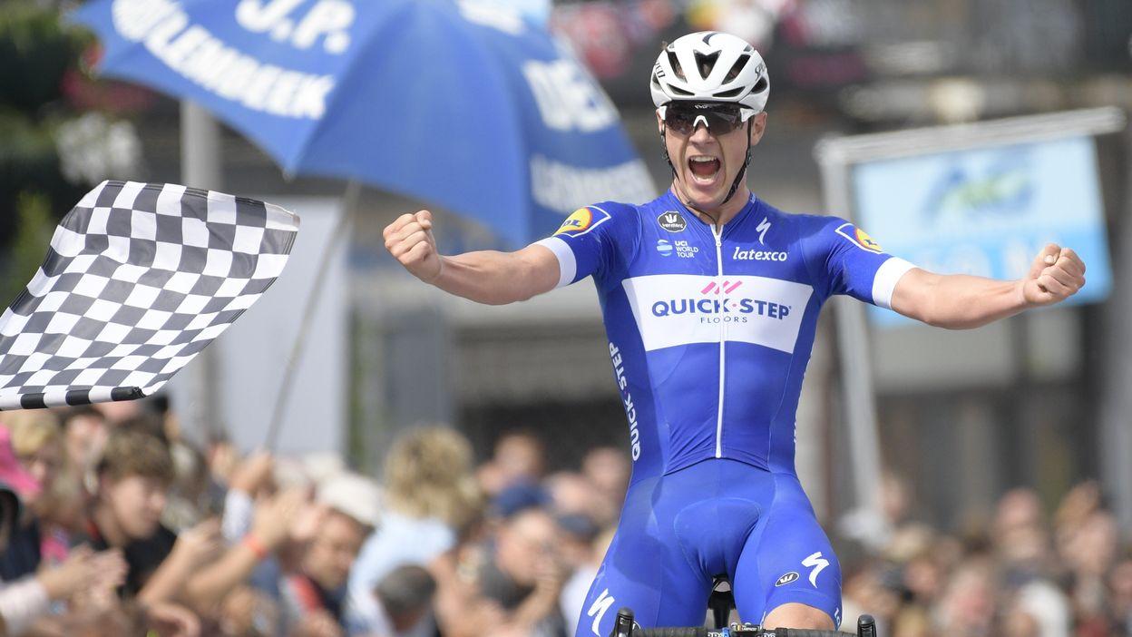 Yves Lampaert après la course