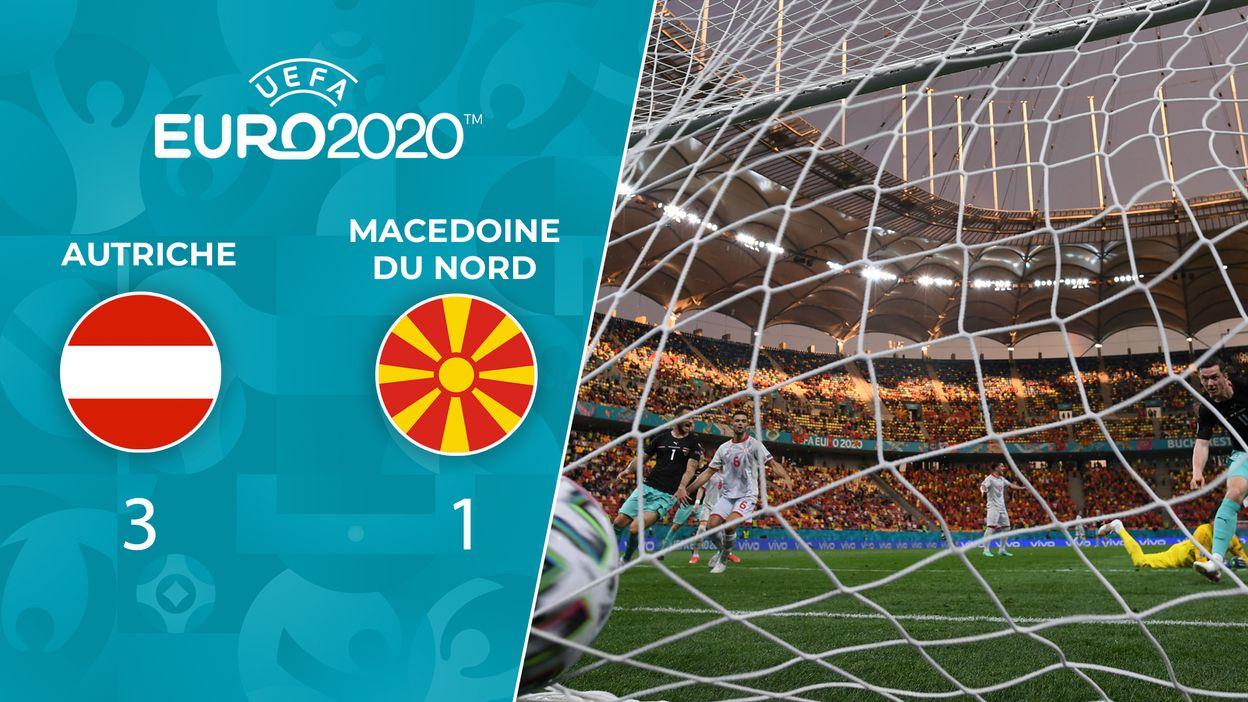 Autriche - Macédoine du Nord : Le Résumé du Match