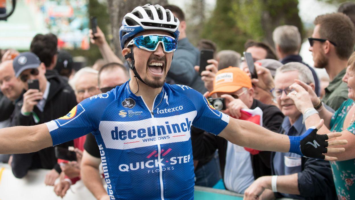 Flèche Wallonne 2019 : Victoire de Julian Alaphilippe