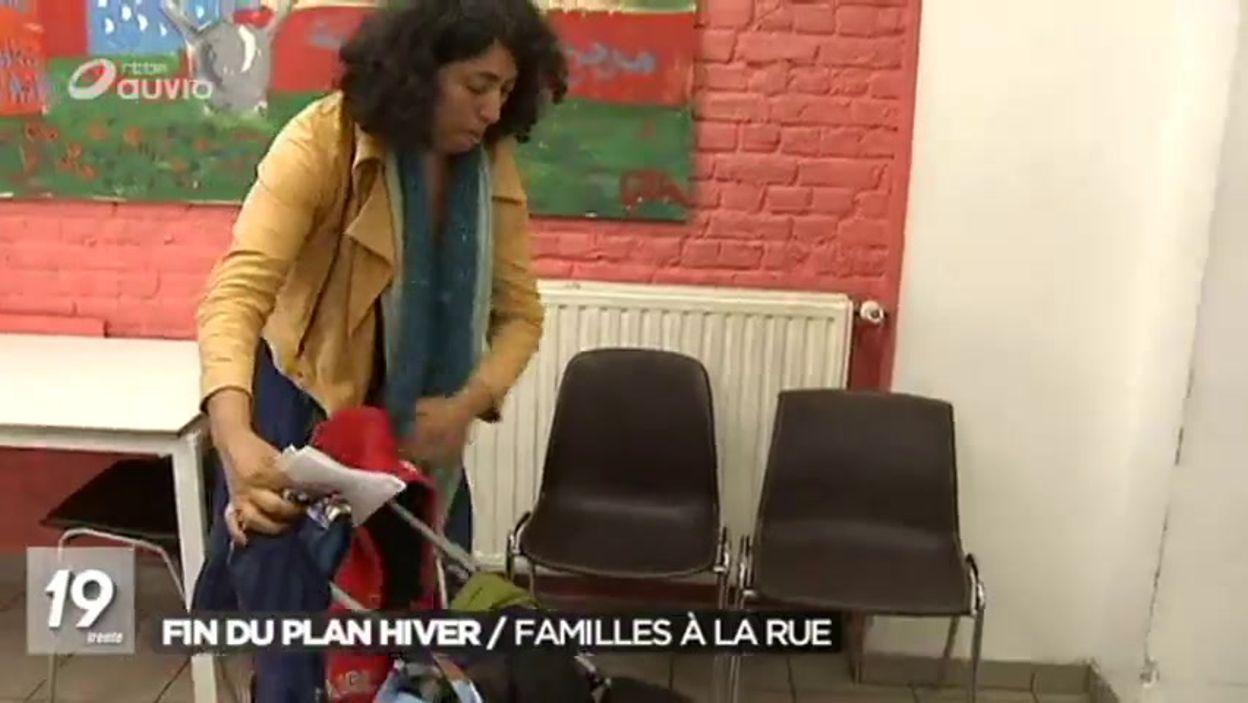 Fin du plan hiver : des familles à la rue