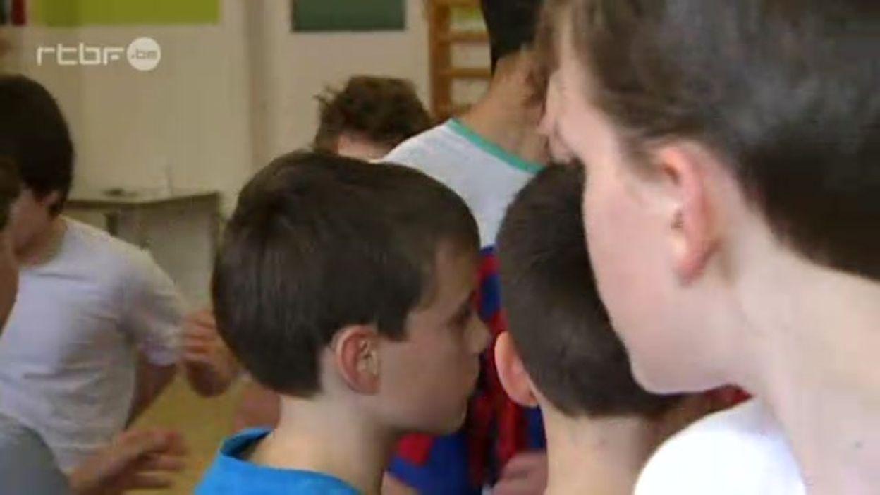 Intégration d'enfants sourds à l'école Sainte-Marie à Namur