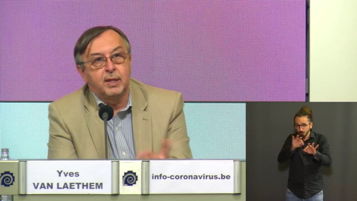 Point presse Sciensano du 25 juin : qu'est ce qu'une vaccination complète ? (Yves Van Laethem)