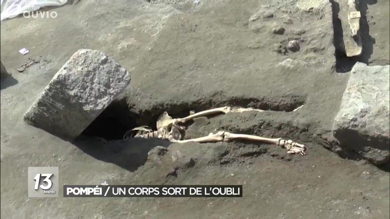 Un nouveau squelette découvert à Pompéi délivre ses secrets