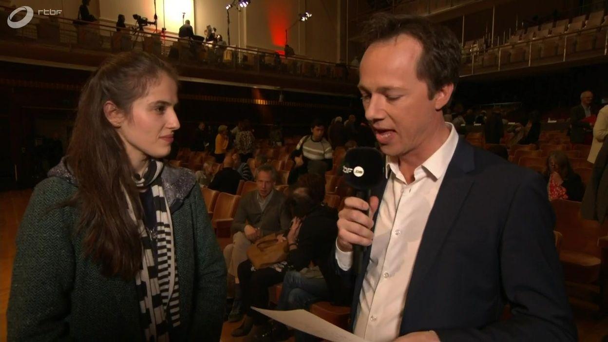 L'interview bord de scène de Júlia Pusker