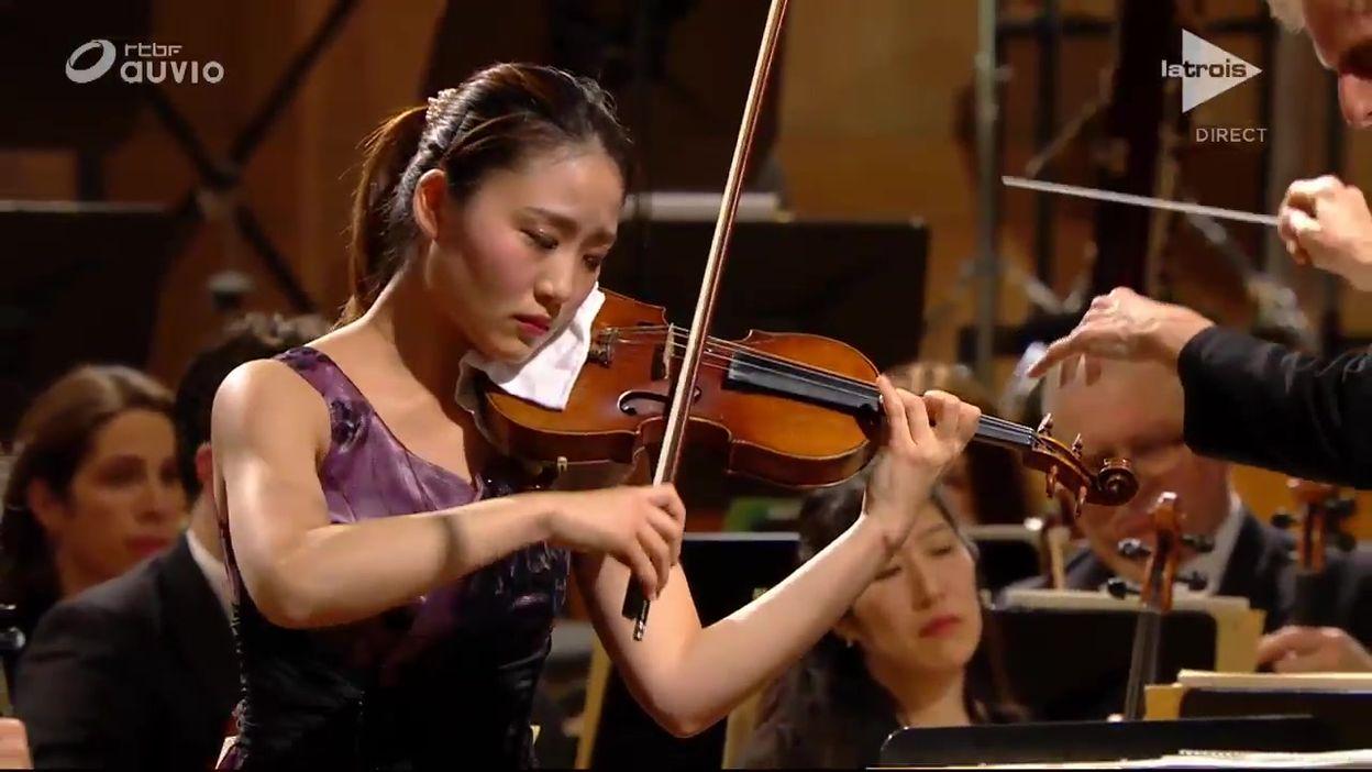 Queen Elisabeth - Yukiko Uno - Brahms, Concerto en ré majeur