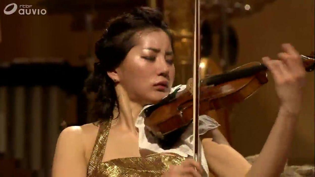 Queen Elisabeth 2012 - violon - Zia Hyunsu Shin - Finale - Concerto en ré mineur de Jean Sibelius