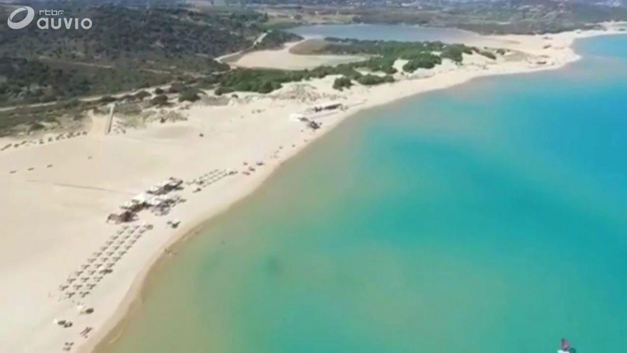 Vols de sable en Italie