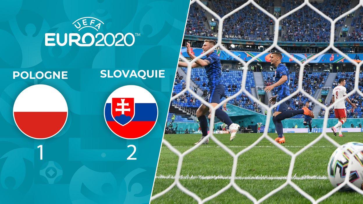 Pologne - Slovaquie : Le Résumé du match