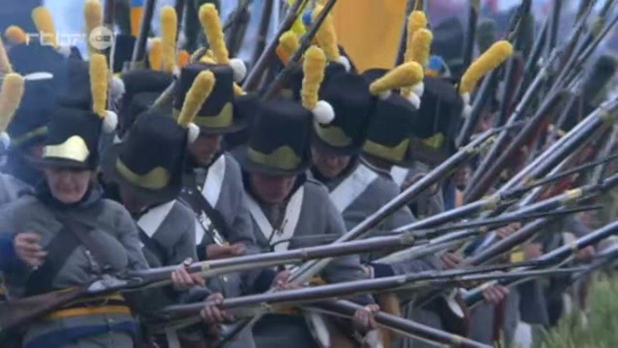 Compte-rendu de la reconstitution d'hier à Waterloo