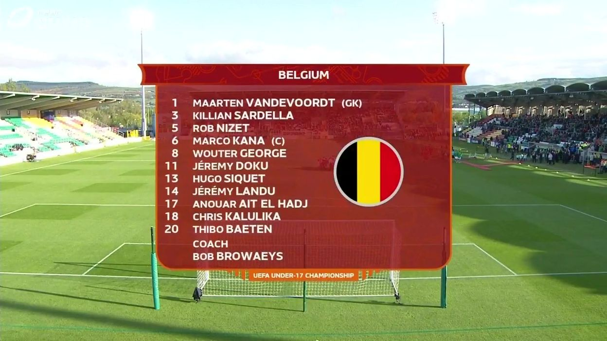 Belgique - Irlande : Le Résumé du Match