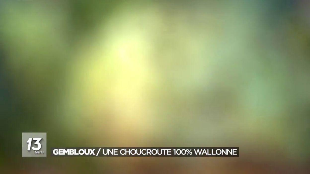 Gembloux : une choucroute 100% wallonne