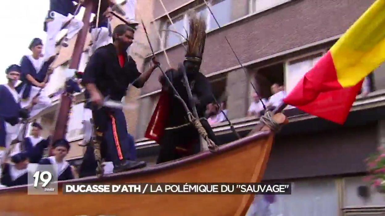 Ducasse d'Ath : la polémique du personnage