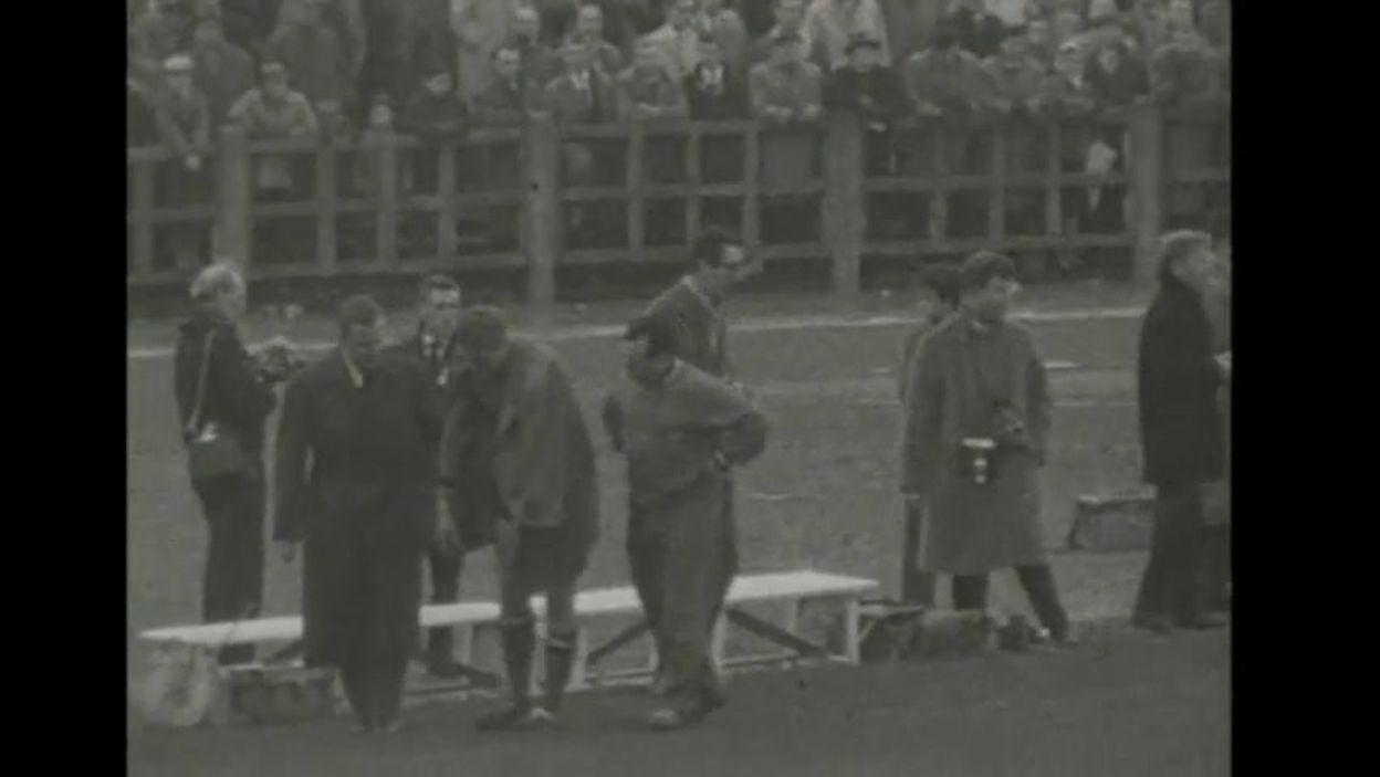 Le résumé de Belgique - Suisse (2-4), 20 novembre 1960 (NDLS)