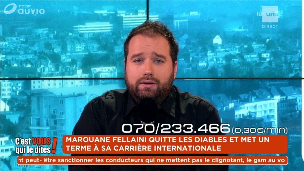 Marouane Fellaini quitte les Diables et met un terme à sa carrière internationale