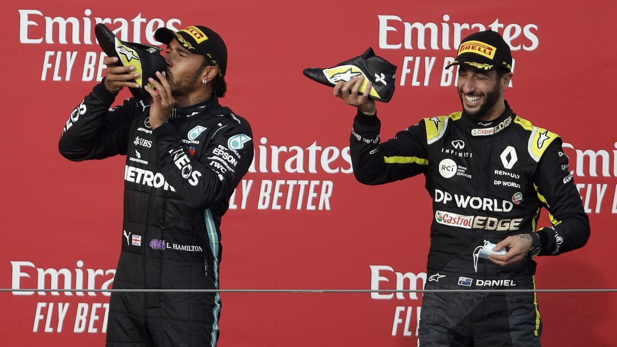 Daniel Ricciardo partage un