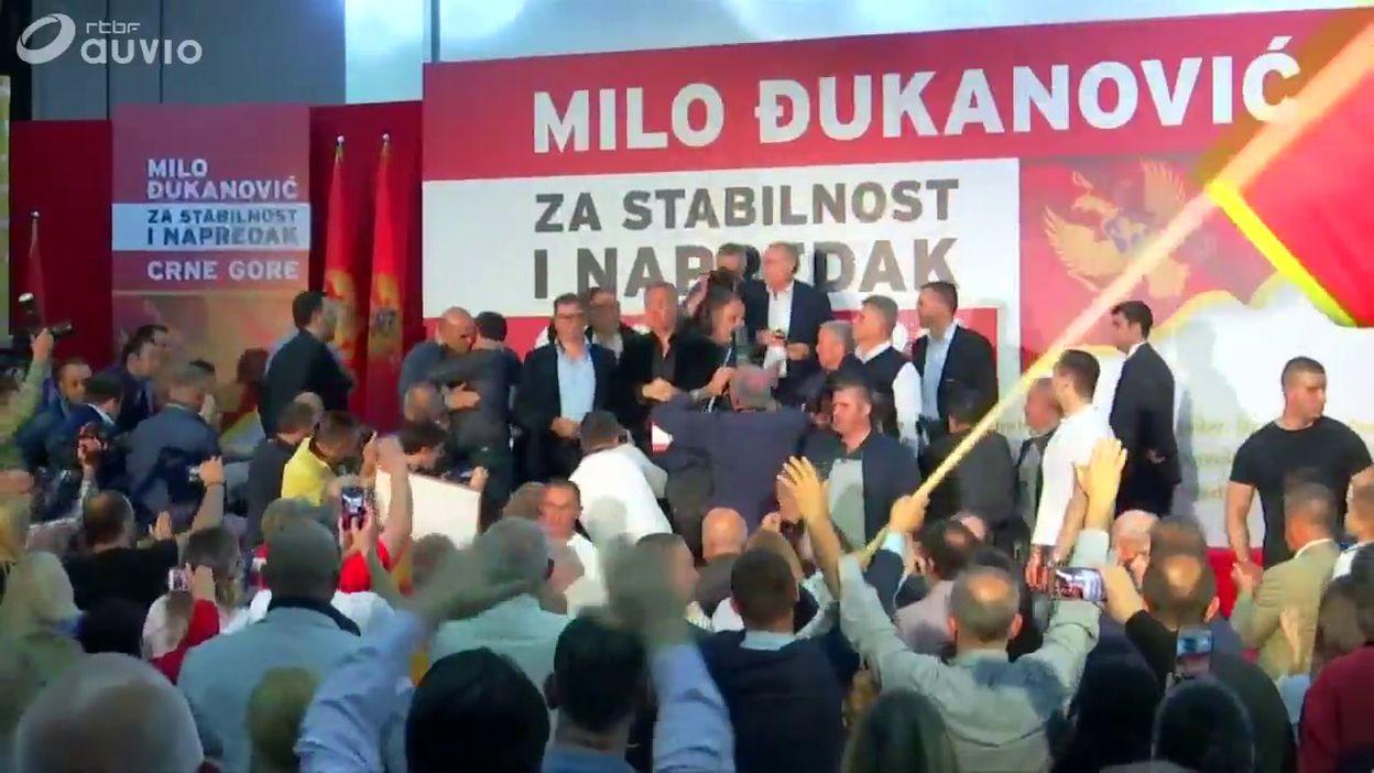 Monténégro: Milo Djukanovic, le nouveau président, fête sa victoire à Podgorica