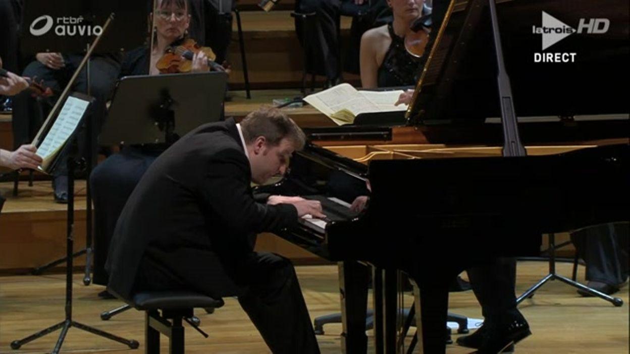 Queen Elisabeth 2016 - piano  - Lukáš Vondráček - Demi-finale - Concerto n.21 de Mozart
