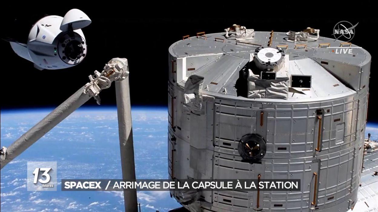Arrimage à l ISS