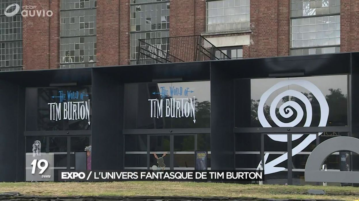 Exposition : l'univers fantasque de Tim Burton