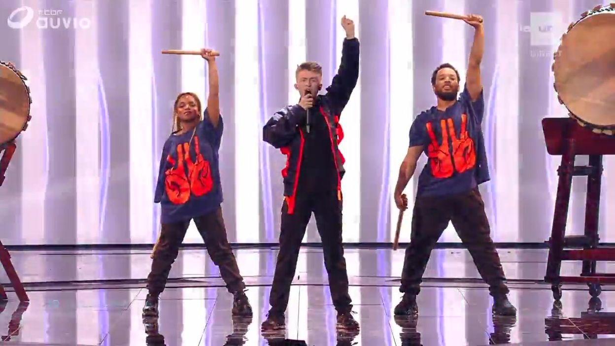 Eurovision 2019 : la prestation d'Eliot !