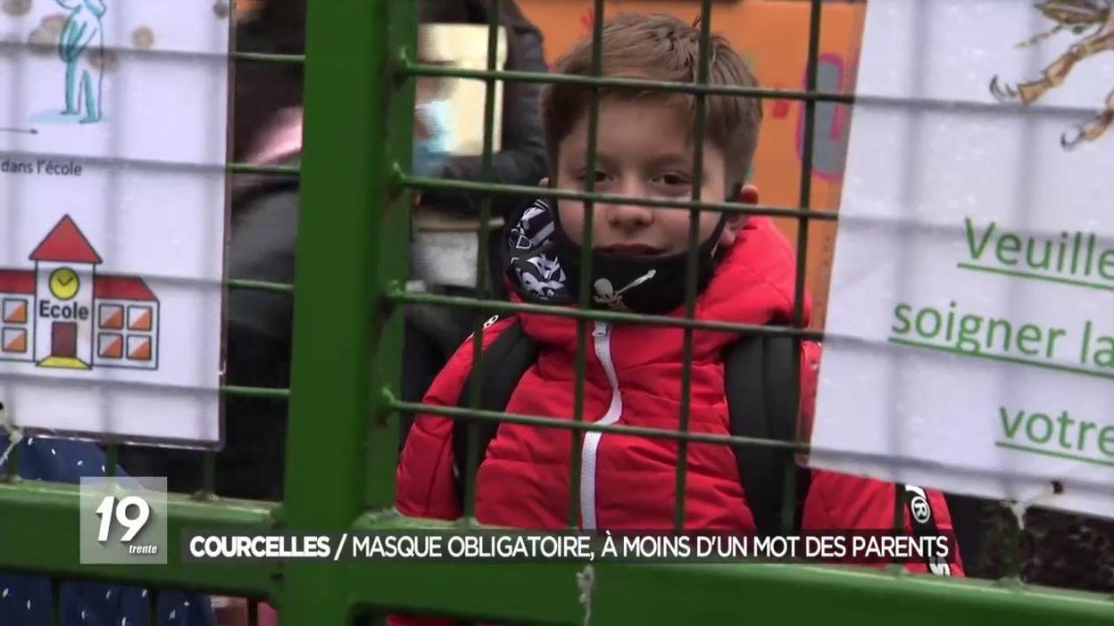 Courcelles : port du masque recommandé dès 6 ans
