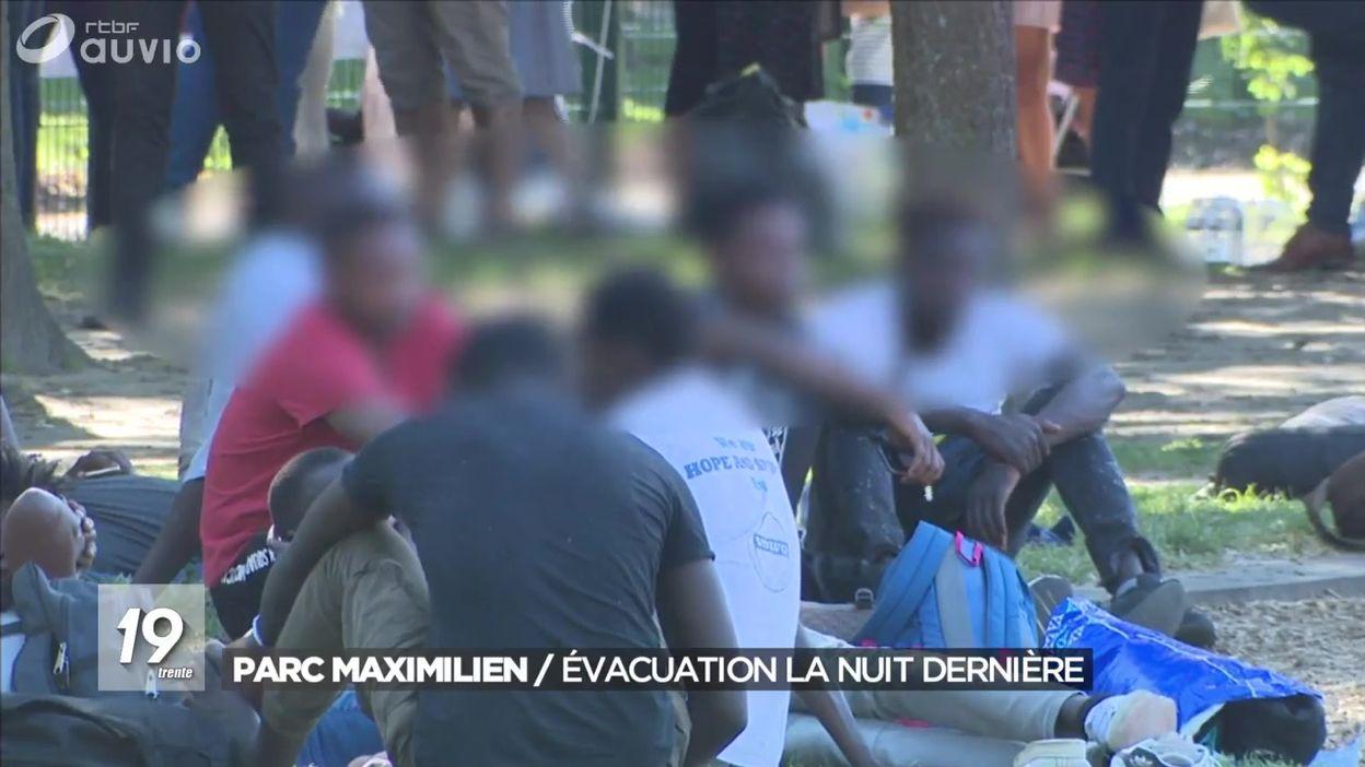 Evacuation du Parc Maximilien : un rapport avec le Tour de France ?