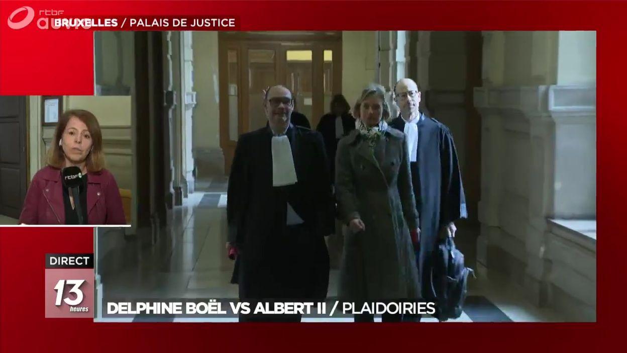 Delphine Boël attend toujours le test ADN du Roi Albert II