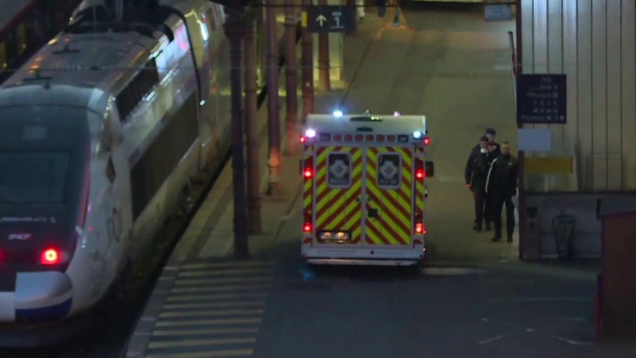 Coronavirus: un TGV se prépare à Strasbourg pour évacuer des malades