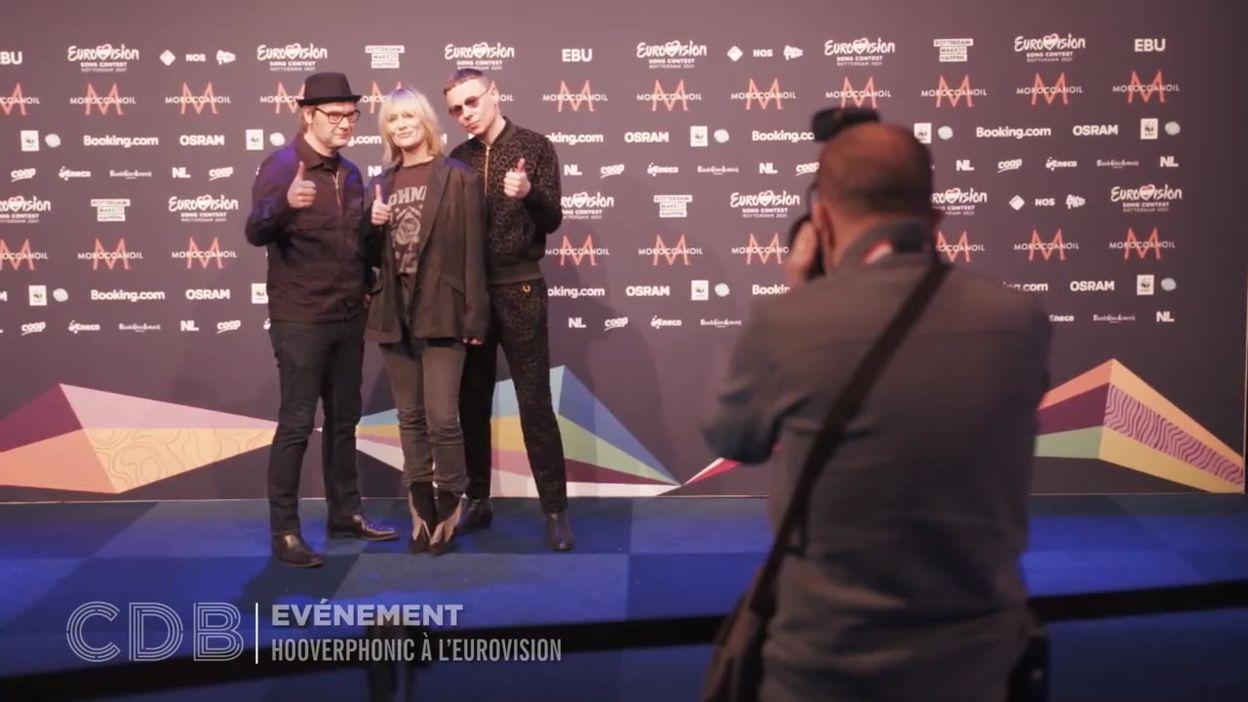 Hooverphonic à l'Eurovision