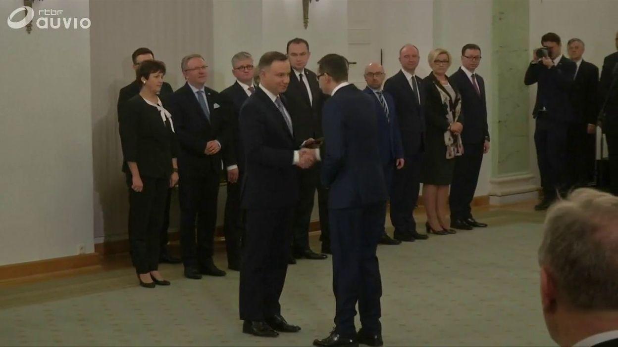 Pologne: Mateusz Moraweicki nommé en tant que nouveau premier ministre