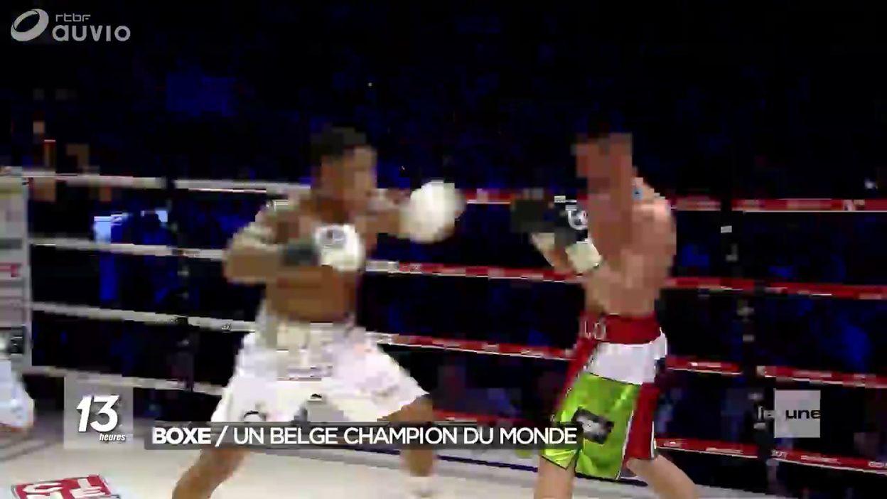 Ryad Merhy nouveau champion du monde en WBA Interim des lourds-légers