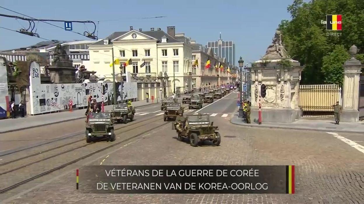 Défilé du 21 juillet 2021 : les vétérans belges de la guerre de Corée