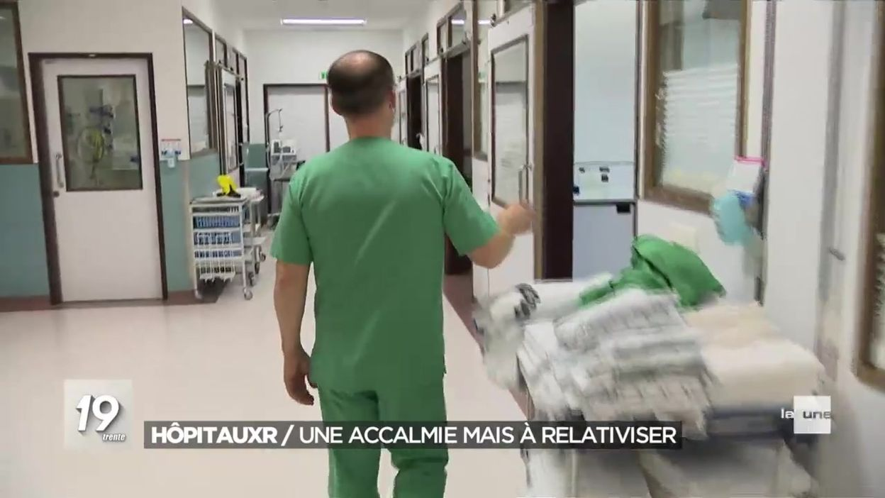 Situation très variable d'un hôpital à l'autre mais la situation reste tendue en soins intensifs