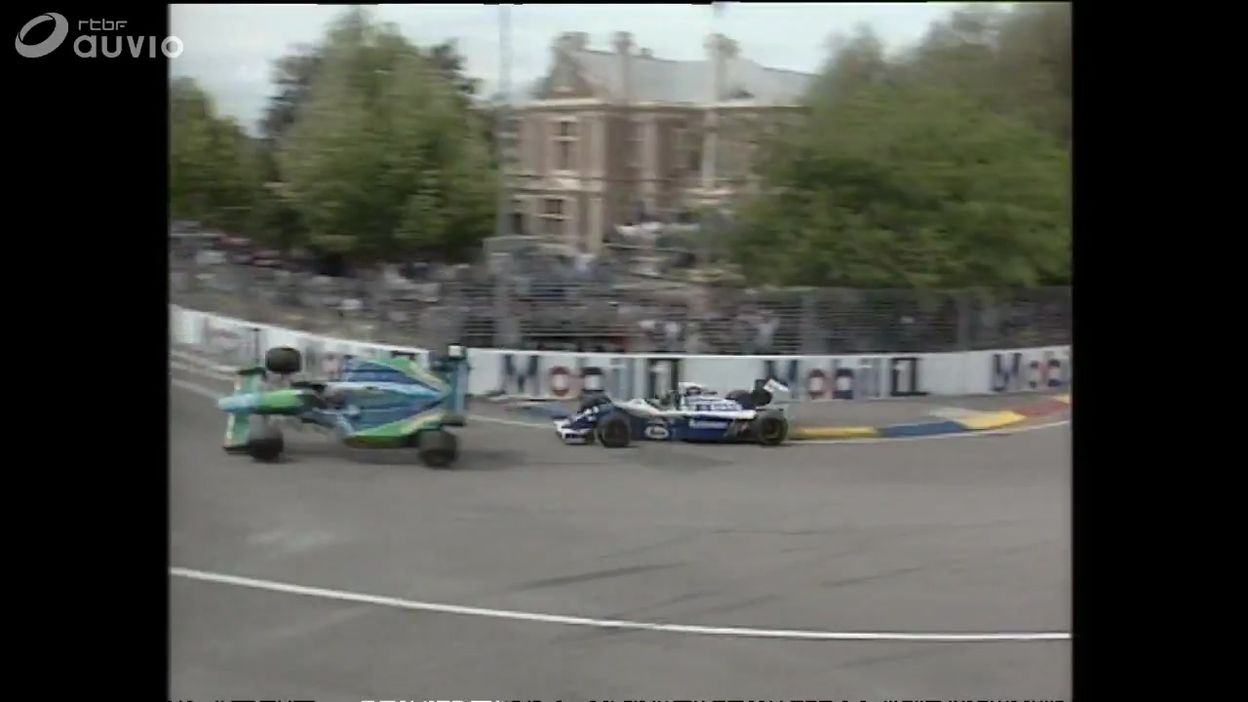 Michael Schumacher remporte son 1er titre de champion du monde de F1