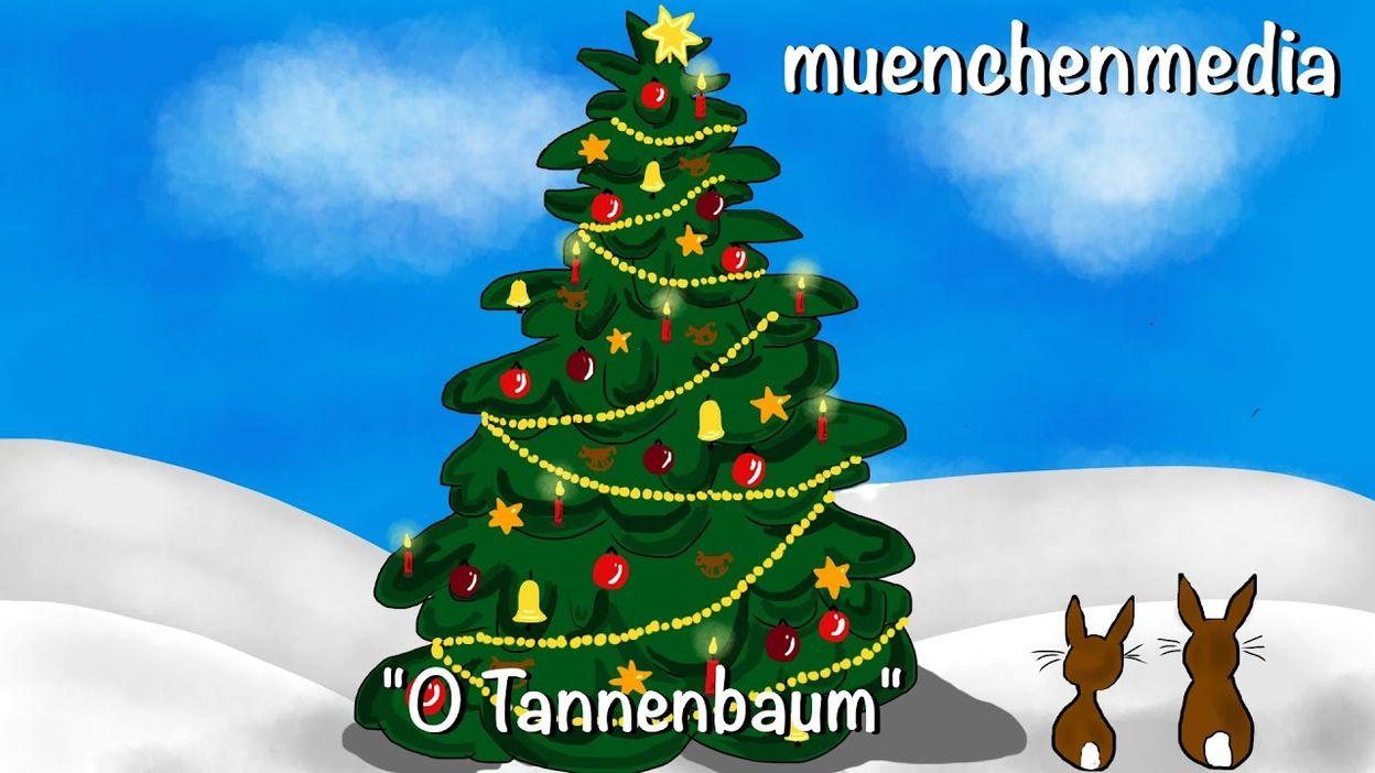 O Tannenbaum Weihnachtslieder Deutsch Kinderlieder Deutsch Weihnachten Muenchenmedia