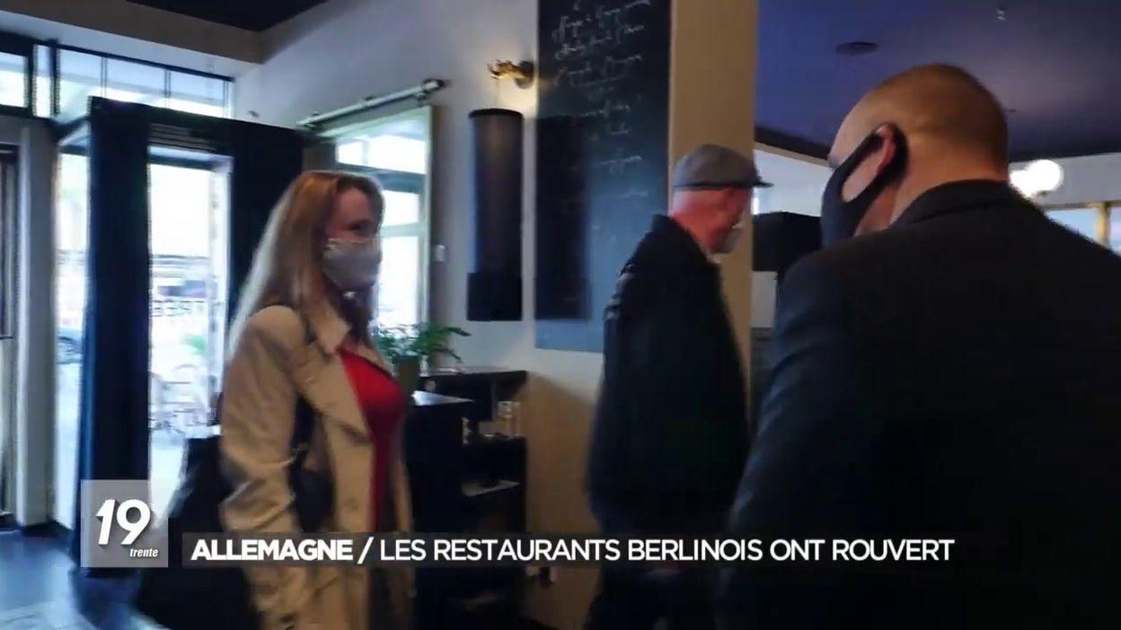 Réouverture des restaurants à Berlin