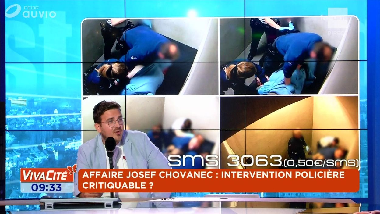 Affaire Josef Chovanec : intervention policière critiquable ?