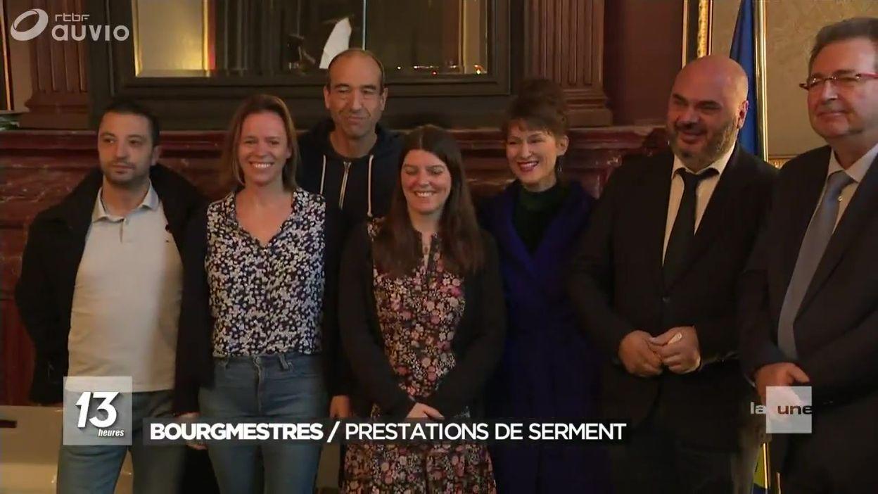 Prestations de serment des Bourgmestres à Bruxelles