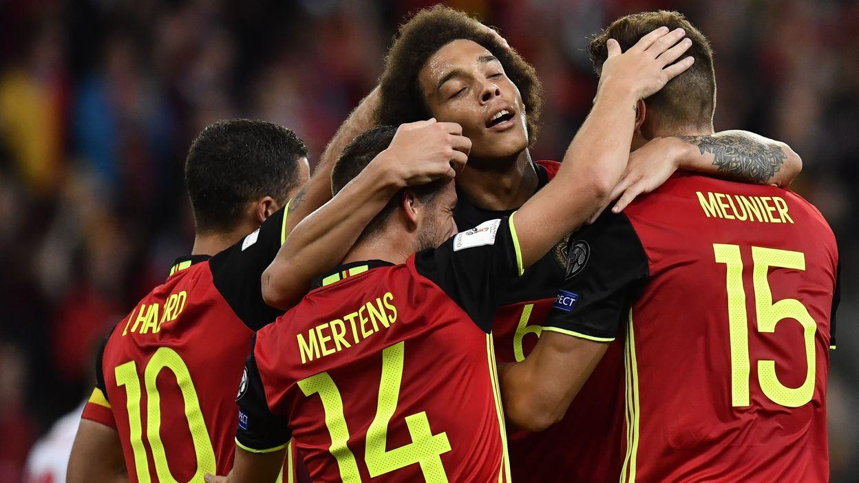 Belgique - Gibraltar : 31 août 2017 (9-0)