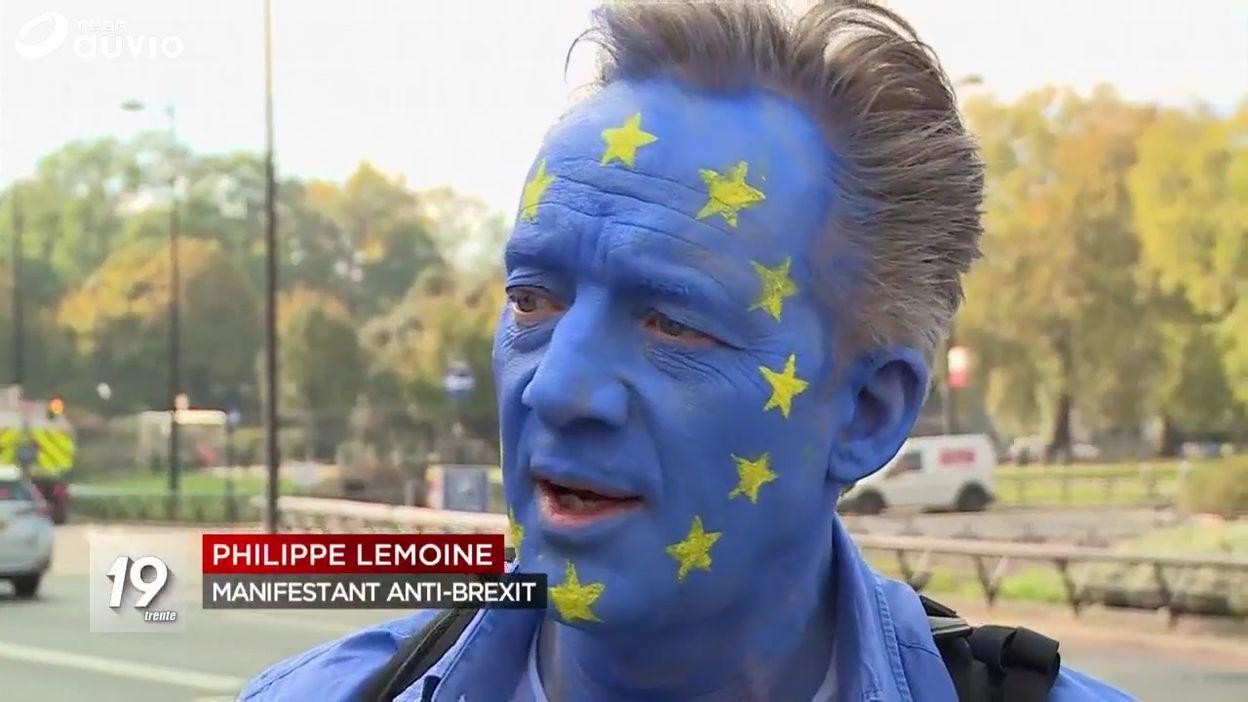 Marée humaine à Londres contre le Brexit