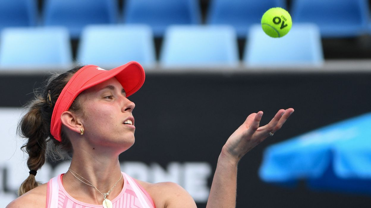 Open d'Australie : Elise Mertens après sa victoire au 2e tour