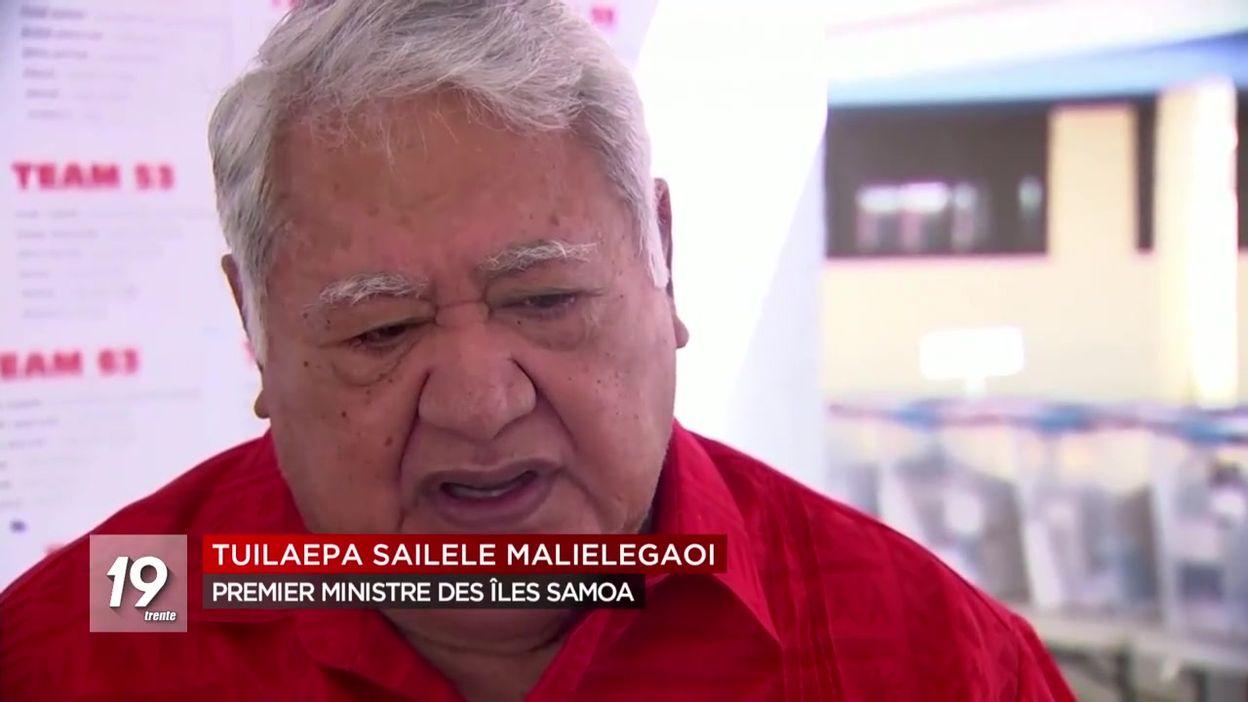 Les îles Samoa fermées pour cause d'épidémie de rougeole